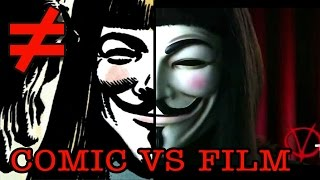 V for Vendetta - What's the Difference?