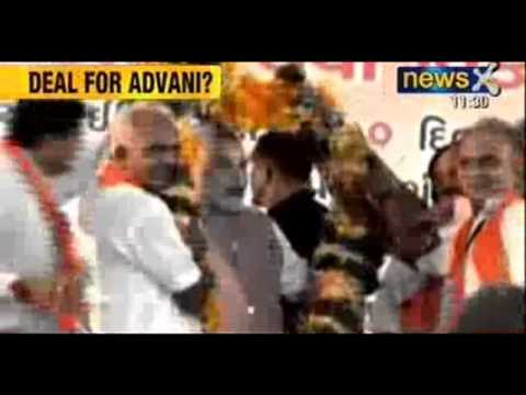 News X: Despite Advani's misgivings, Rajnath Singh to launch Narendra Modi as PM candidate tomorrow