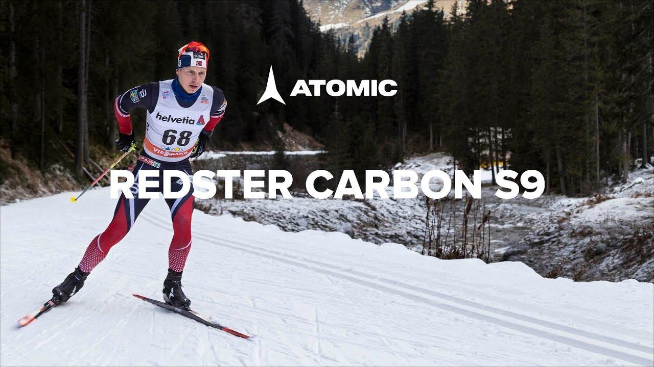 Видео о беговых лыжах Atomic Redster Cabron