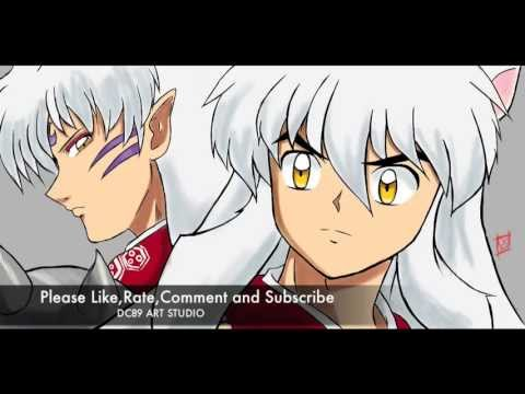Speed Paint: Fan Art Inu-yasha