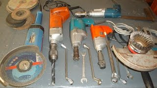Repairing Old Power Tools To Their Former Glory