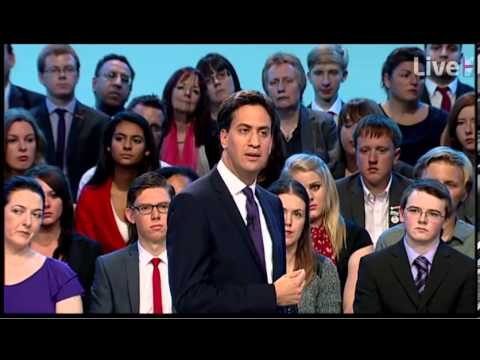 Ed Miliband Conference 2013 speech -- A recovery for the many