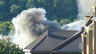 NRWspot.de | Hagen – Großbrand am alten Schlachthof – Feuerwehr bis zum frühen Morgen im Einsatz