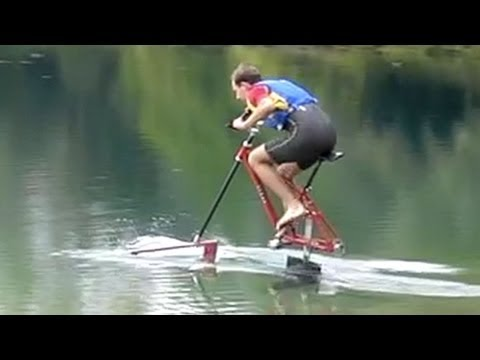 Waterbike Hydrofoil Bicycle