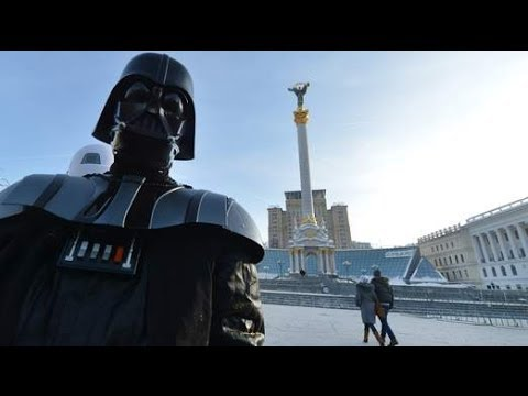 'Darth Vader' To Run For Presidency Of Ukraine