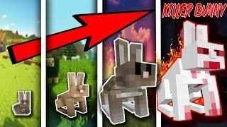 NẾU CON THỎ CÓ CUỘC SỐNG TRONG MCPE, SỰ TIẾN HÓA CỦA LOÀI THỎ KILLER BUNNY | Cuộc Sống Minecraft PE