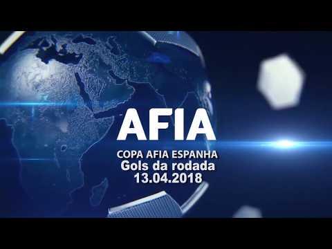 Gols da Rodada 13/04 - Copa AFIA Espanha - Mallorca 2018