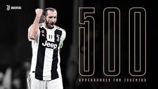 #Chiello500 | Giorgio Chiellini makes his 500th appearance for Juventus!