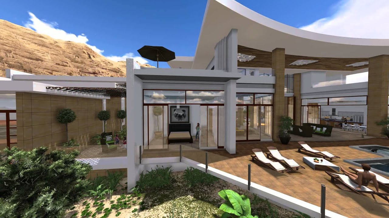 Modern villa design in muscat oman by jeff page of sld architects uae 2013 youtube Home of architecture planning uae