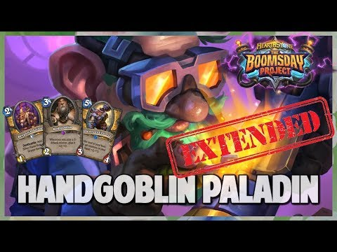 Handgoblin Paladin | Extended Gameplay | Hearthstone | Boomsday Project