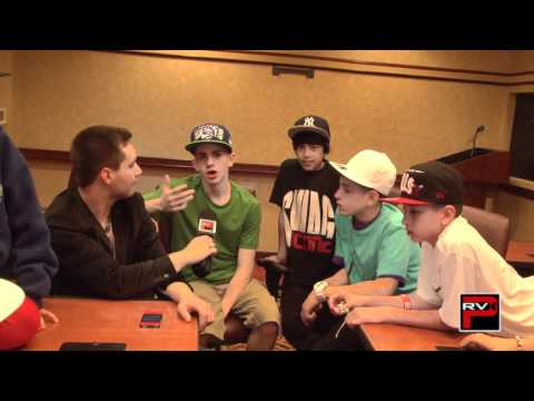 More Fan Questions for Iconic Boyz b4 ABDC Pitbull Challenge Appearance - Talk about Rumors
