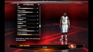 NBA 2K13 How To Create Kyrie Irving