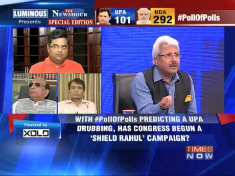 The Newshour Debate: 'Shield Rahul Gandhi' strategy - Part 3 (13th May 2014)