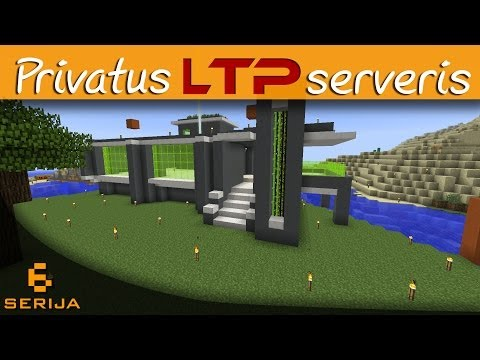 [Minecraft Lietuviškai] Privatus LTP serveris S2 - 06: Modernaus namo projektas