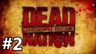 Dead Nation: Apocalypse Edition - HD on PS4 | Pincer Attacks and Explodey Dudes! (Part 2)