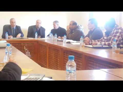 رئيس جماعة لوطا مكي حنودي ينتفظ في وجه ممثل الشباب والرياضة بالحسيمة