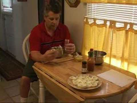 Cooking For Men!! Home Made Deviled Eggs!! Tony D'Angelo Shows You How!!