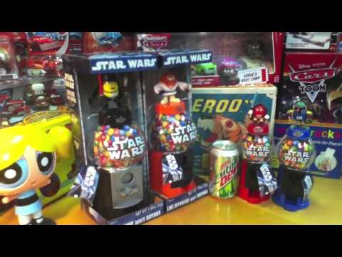 Star Wars M&M's Candy Dispensers Toy Reviews on YouTube ToyReviews Channel