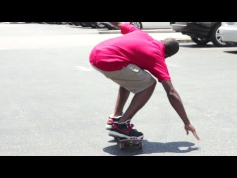 How to Ollie on a SkateBoard with Theotis Beasley! - Dew Tour 2013! - Tryout Tuesday!