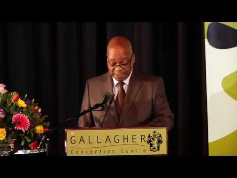 President Jacob Zuma addresses Youth Leadership Summit