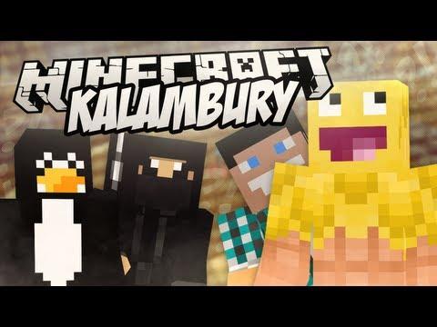 KALAMBURY! - Rezi + Pingwin + Czułek + skkf! / Minecraft Mini-Game: BUILD IT!
