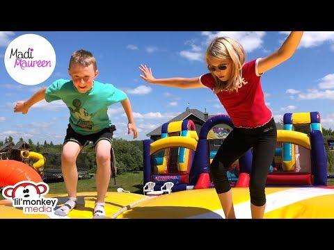 🌈 Madi's 10th Birthday! Harry Potter Theme and Inflatable Blob Bounce House Fun! | Madi Maureen 👧🏼