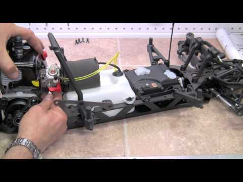 HPI Baja 5SC SS Build Video #32