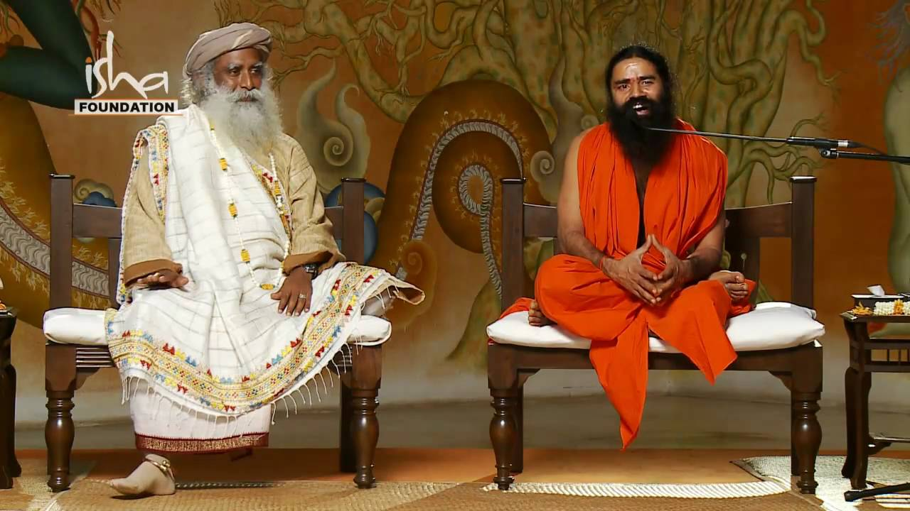 Baba Ramdev visits Isha Yoga Center - Part 4 - YouTube Sadhguru