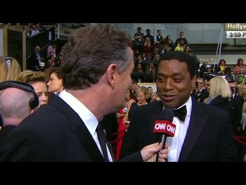Chiwetel Ejiofor at the Oscars: