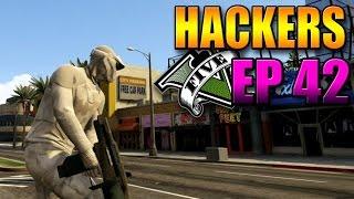 Hackers En GTA V Online #42 Super Armas, Sol Y Luna