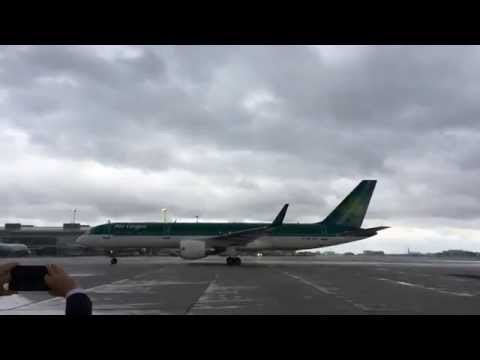 Arrival of our inaugural EI129 service from Dublin to Toronto