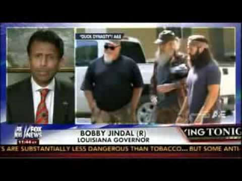 Gov. Jindal: Miley Cyrus is on TV and Phil Robertson is off TV? Something wrong with that