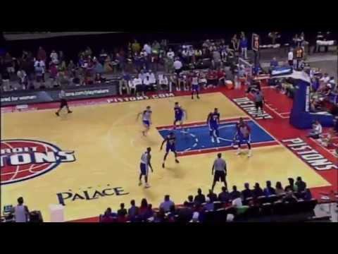 Detroit Pistons 2013 Open Practice Highlights