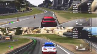 Forza Motorsport 3 Multiplayer Split Screen Gameplay Video