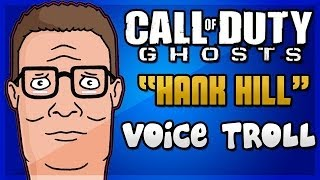 "Hank Hill Voice Trolling on Call of Duty Ghosts ""Drug Dealer"""