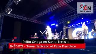 La Luz De Francisco Palito Ortega Le Canta Al Papa