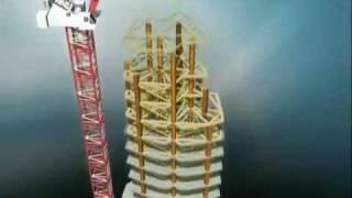 Конструкция Burj Khalifa (Burj Dubai)