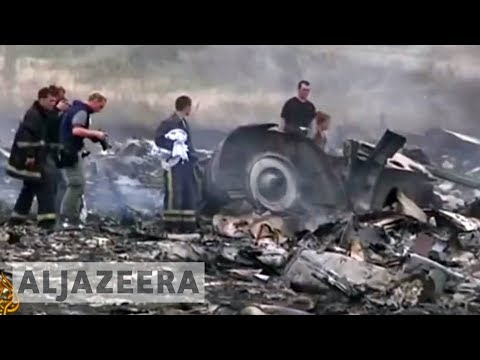 Malaysian Airlines plane shot down over Ukraine