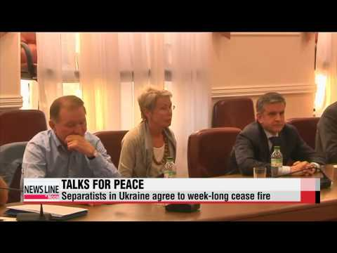 Separatists in Ukraine agree to week-long cease fire