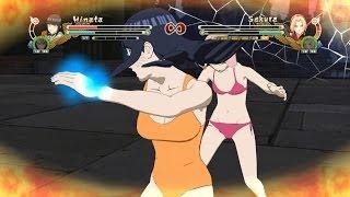 Hinata Swimsuit & Naruto Vs Sakura Swimsuit & Tsunade