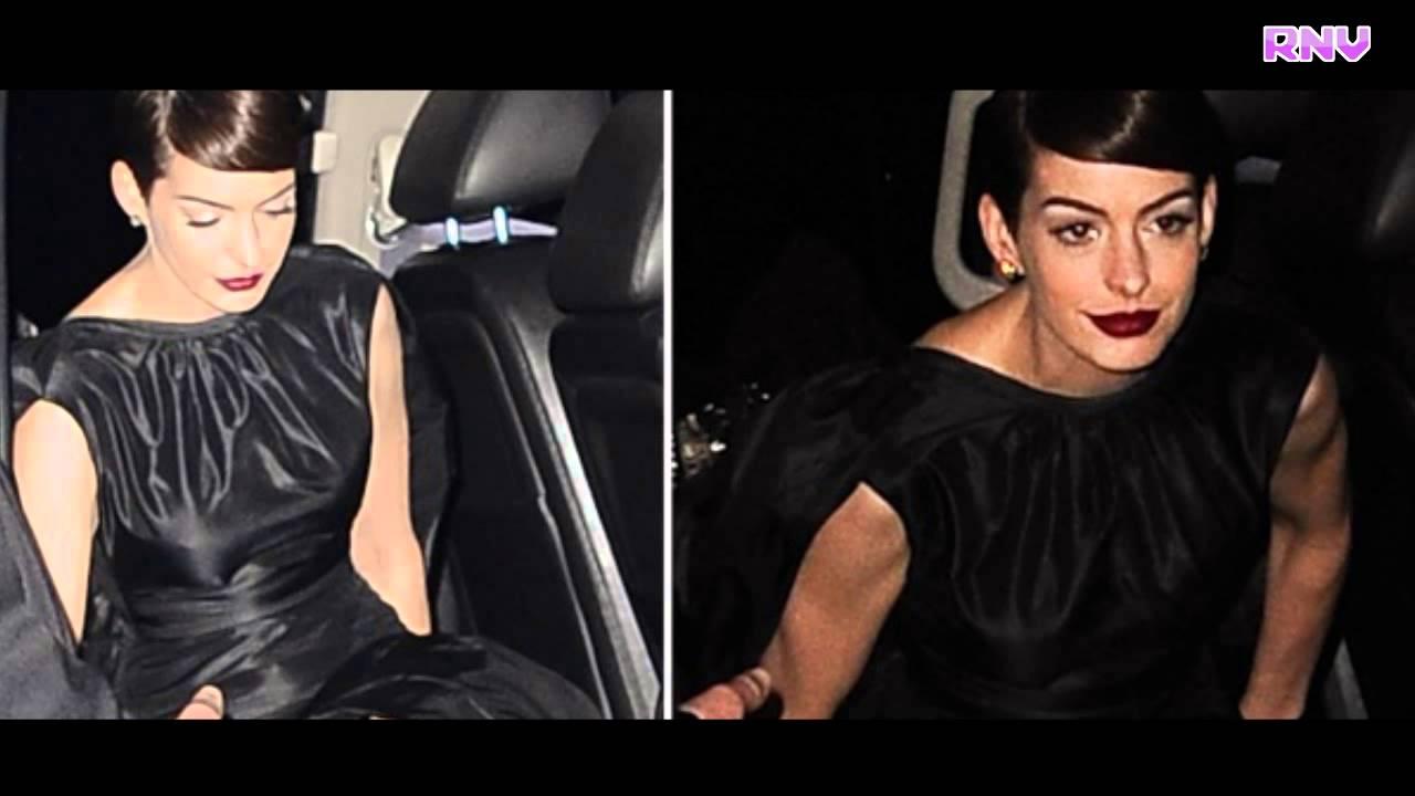 Displaying 17&g... Anne Hathaway Oscar Incident
