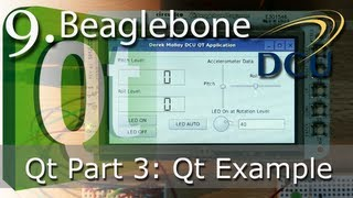 Beaglebone: Example Qt Embedded Linux Application