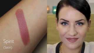 rebeccafloeter – Meine MAC Lippenstifte ♥ Standard Sotiment, 24 Farben+swatches