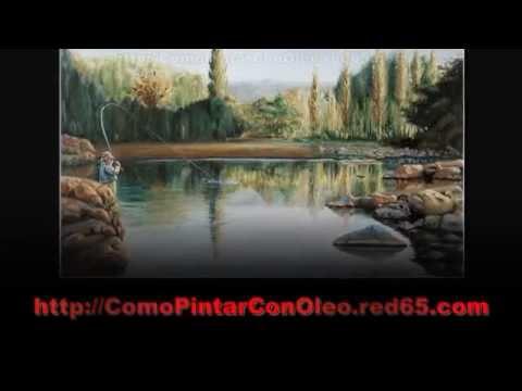 Cómo Pintar Un Paisaje En Oleo - Como Pintar Con Oleo - Como Pintar Cuadros Al Oleo