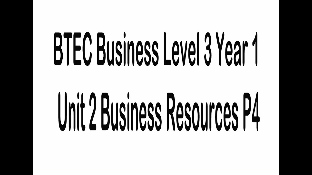 btec business level3 unit 1 Btec business unit 1 m1 btec level 3 in business - unit 4: business communication context businesses need accurate information this information has to move between different individuals, different departments and different organisations.