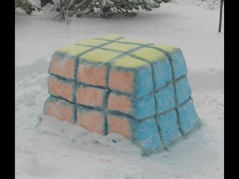 Easy Snow Sculpture Ideas For Easy Snow Sculptures