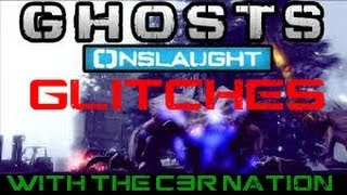 2 COD GHOST NIGHTFALL DLC EXTINCTION GLITCHES *ALL NEW
