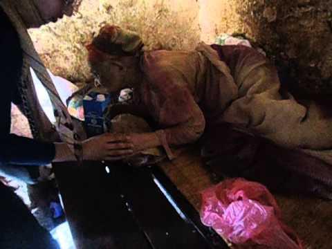 عجوز في وضع مأساوي باشتوكة آيت باها