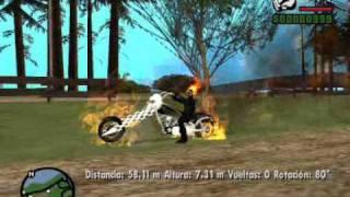 Gta San Andreas Ghost Rider Mod