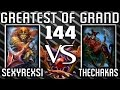 Smite Greatest of GrandMasters 144 Anhur vs Loki